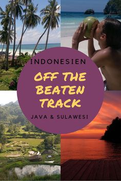 1 month tour Indonesia: Off The Beaten Track through Java and Sulawesi - Travel Yakyak Ubud, Best Sunset, Asia Travel, Southeast Asia, Where To Go, Backpacking, Places To See, Travel Photography, Scenery