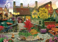 The Fish Drying Barn by Van Gogh 1000 or 500 Piece Jigsaw Puzzles