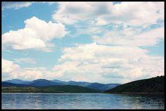 Foto sobre Nube en Pantano del Berrueco de ainhoa NhC - El Berrueco - 1093351