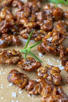 The Café Sucré Farine: Candied Balsamic-Rosemary Walnuts