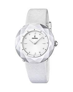 Ρολόι FESTINA White Leather F16620/1
