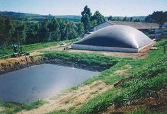 medium sized biodigestor for farm or neighborhood