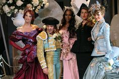 DIOR COUTURE Galliano and the supers (fall 2007)