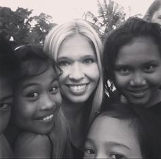 Girly selfie at Program Ubud with volunteer Anna-Katharina.