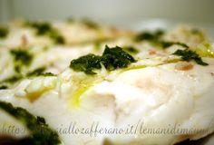 Cefalo mazzone lesso in salsa verde | Le Mani Di Manu