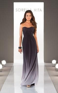 Bridesmaid Dress from Sorella Vita Style 8414 available at Carrie Karibo Bridal