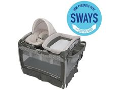 Pack 'n Play® Playard with Nuzzle Nest™ Sway Seat, Finland™ - Graco