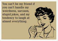 Yup pretty much #weird #funny #friend