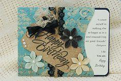 Handmade Shabby Chic Happy Birthday Card by CardsbyBeckyLynn, $4.00