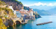 25 Beautiful Romantic Hotels in Italy List Of Cities, Cities In Italy, Regions Of Italy, Amalfi, Italy Location, Places To Travel, Places To Visit, Italy Country, Italy History