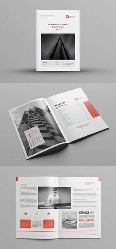 Company Profile Design Template InDesign INDD Company Profile Design Templates, Notice Period, Company Brochure, Print Templates, Card Templates Printable, Corporate Brochure