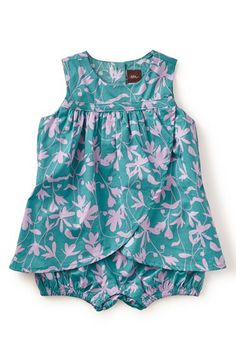Tea Collection Tea Collection 'Crocus' Print Dress (Baby Girls) available at #Nordstrom