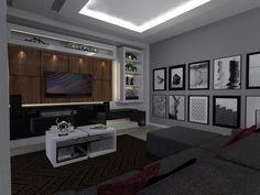Sala Tv - projeto EGT