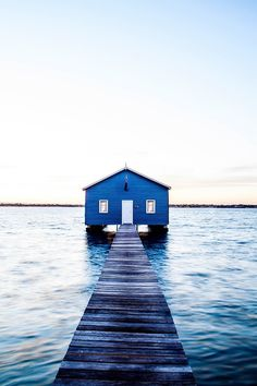 Boat Shed Photographic Print - Australian Art Series - Australian Art Series Kara Rosenlund, Boat Shed, Timber Frame Homes, Elements Of Style, Australian Art, Blue Aesthetic, Large Prints, Western Australia, Photographic Prints