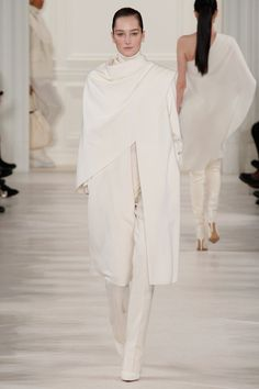 Ralph Lauren   Fall 2014 Ready-to-Wear Collection   Style.com #Minimalist #Minimalism #Fashion