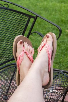Check out this tutorial on how to make fabric flip flops for under $5! They're so comfy and only take about fifteen minutes to make!