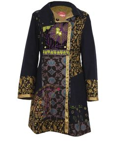 Patchwork Embroidered Coat | DC60 | Nomads Clothing