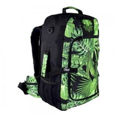 Fabulous Rainforest Print Carry-on Travel Pack by the super talented girls of Elephant Stripes! Travel Packing, First World, Travel Style, How To Look Pretty, Backpacking, Elephant, Stripes, Stylish, Bags
