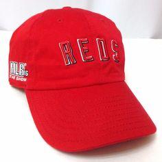 Vtg MLB-The Show 2006 PlayStation NEW-ERA CINCINNATI REDS HAT Relaxed Men/Women #NewEra #CincinnatiReds