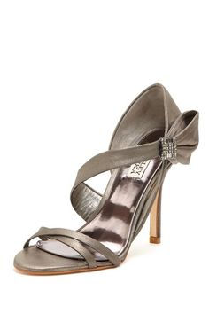 Badgley Mischka Sophia Strappy Sandal. Those were the days when my feet could wear a heel :/
