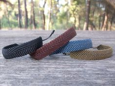 Macrame men's bracelet, unisex bracelet, adjustable!