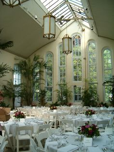 Piper Palm House in Tower Grove Park, oldest greenhouse west of the Mississippi River