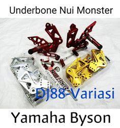 Footstep Underbone Nui Monster Yamaha Byson , Step Depan Nui , Operan Gigi , Underbound Step Lipat Tekuk Nui Aksesoris Yamaha Byson Dj88variasi