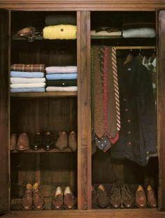 A men's wardrobe - Ralph Lauren