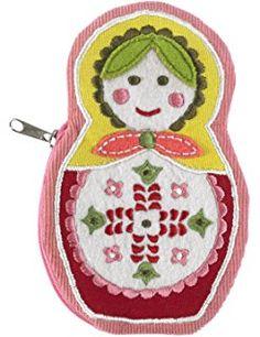 Living Goods Zippee Coin Pouch, Matryoshka Doll