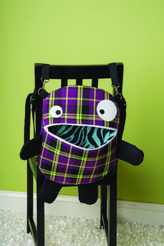Backpack Pattern, Monsters, Creatures, Chair, Furniture, Home Decor, Decoration Home, Room Decor, Home Furnishings
