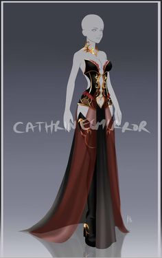 (CLOSED) Adopt Auction - Outfit 54 by cathrine6mirror