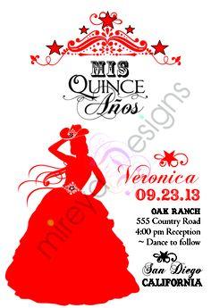 Cowgirl Quinceanera Invitation