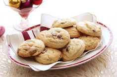 Chunky White Chocolate-Cranberry Shortbread