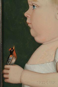 artist benjamin greenleaf | Benjamin Greenleaf (Massachusetts/New Hampshire, 1769-1821) Portrait ...