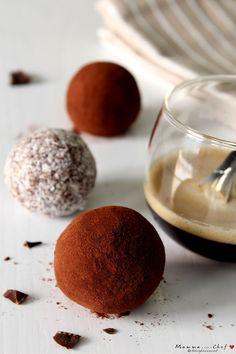 Cioccolatini morbidi al caffè