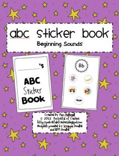 Your little learners will LOVE using these colorful stickers to complete their ABC Sticker Books!  Simply print the pages of the book ... 3.00