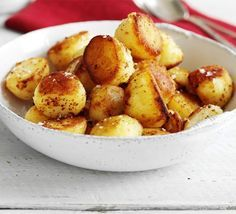 Freeze-ahead roast potatoes | BBC Good Food- prepare for Christmas Day in advance!