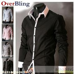 Aliexpress.com : Buy Free Shipping  Men's Casual Slim fit Long Sleeve Dress shirt Wholesale fashion menT shirt,Unisex casual shirt Fit from Reliable shirt argentina suppliers on Rose YesBling's store  | Alibaba Group