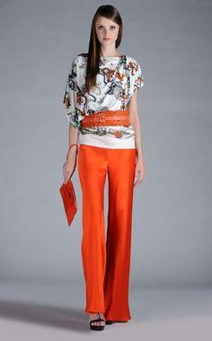 Pantalone Donna - Pantaloni Donna su Roberto Cavalli Online Store