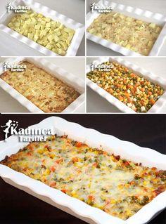 Fırında Garnitürlü Sütlü Patates Tarifi Kadincatarifler.com - En Pratik, Lezzetli ve Nefis Yemek Tarifleri Sitesi