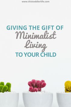 Minimalist living is for everyone, especially families. Give the gift of a minimalist home to your children and allow them to be happy..