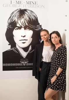 Stella And Mary McCartney Paying Respects To One Of Their Uncles