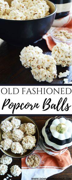Old Fashioned Popcorn Balls   Popcorn Balls   Popcorn Balls Recipe   Easy Popcorn Balls   1950's Recipe   Old Recipe   Popcorn Recipe   Kettle Corn Recipe   Easy Kettle Corn  