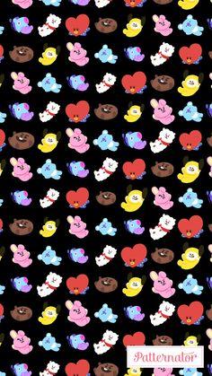 Cute Wallpaper Phone Case ♡bt21 Rj Superstar♡ Bts Pinterest