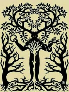 Cernunnos The Lord of the Forest Pagan Gods, Celtic Mythology, Celtic Paganism, Pagan Art, Susanoo, Asatru, Witch Art, Wow Art, Celtic Art