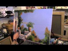 Средиземноморский мотив,научиться рисовать, Игорь Сахаров, живопись для начинающих, уроки рисования - YouTube
