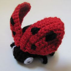 I could pretty  much just have a script that would automatically re-pin amigurumipatterns.net's daily post. This ladybug is very cute.