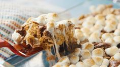 S'mores Bars: These s'mores bars reignited our love for Golden Grahams...they're the new rice krispie treats.