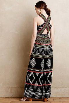 NWT Anthropologie Amapa Jumpsuit by Elevenses multiple sizes Indian Fashion Dresses, Indian Designer Outfits, Designer Dresses, Batik Fashion, Boho Fashion, Fashion Outfits, Stylish Dresses, Casual Dresses, Anthropologie Clothing