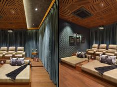 25 basement home theater design ideas ( awesome picture) 00031 Home Theater Room Design, Home Theater Decor, Home Theater Rooms, Home Theater Seating, Living Room Designs India, Living Room Tv Unit Designs, Backyard House, Asian Interior, Bedroom Furniture Design